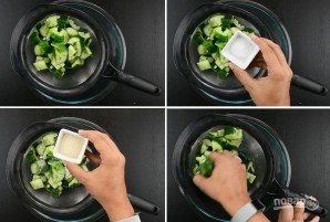 Весенний огуречный салат - фото шаг 2