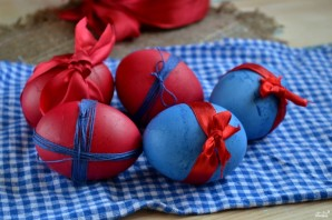 Красивые пасхальные яйца - фото шаг 5