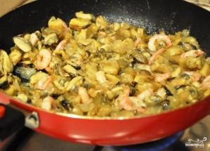 Жюльен из морепродуктов - фото шаг 5