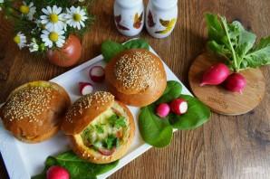 Горячие булочки с яйцом и сыром - фото шаг 7