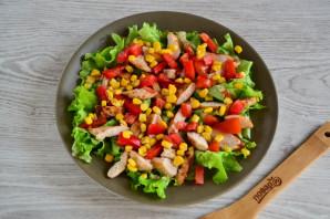 Салат с гренками - фото шаг 10