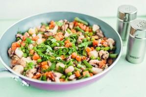Морской коктейль с овощами - фото шаг 4
