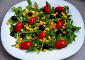 Итальянский салат с вялеными помидорами - фото шаг 4