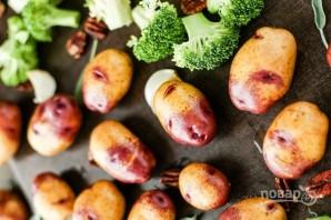 Запеченные овощи с орехами - фото шаг 1