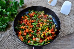 Овощной суп на мясном бульоне - фото шаг 11