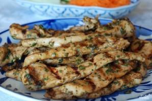 Закуска из курицы и свежих овощей - фото шаг 13
