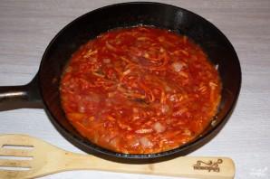 Томатный суп с моцареллой - фото шаг 5