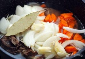Суп с мясом и нутом - фото шаг 3