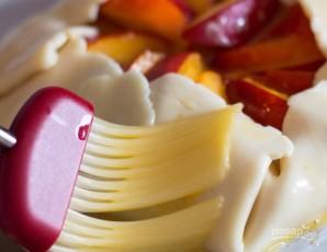 Тарт с нектарином и медом - фото шаг 4
