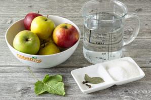 Мочение яблок - фото шаг 1