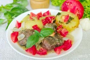 Баранина маринованная и запеченная в рукаве с овощами - фото шаг 6