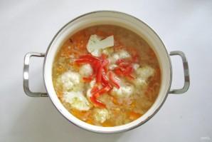 Суп из индейки с цветной капустой - фото шаг 6