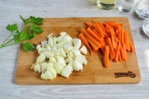 Закуска из перца и моркови на зиму - фото шаг 3