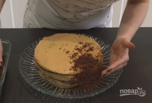 "Домашний шоколадный торт ""Пеле"" - фото шаг 10"