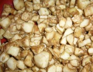 Курица с баклажанами и рисом - фото шаг 2