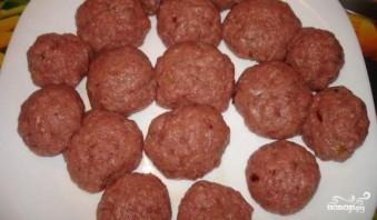 Картофель с фрикадельками - фото шаг 2