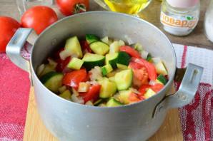 Цукини с помидорами и перцем на зиму - фото шаг 9