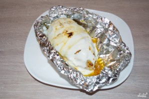Куриная грудка под соусом - фото шаг 5