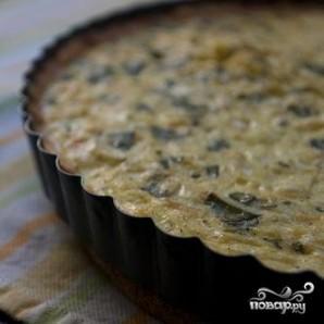 Тарт с кукурузой и базиликом - фото шаг 6