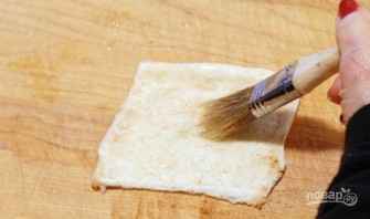Рулетики из хлеба с корицей - фото шаг 3