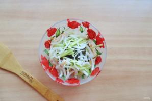 Витаминный салат из морской капусты - фото шаг 6