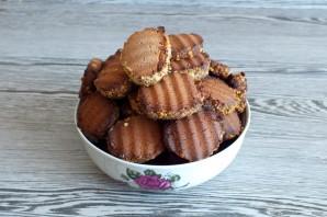 Печенье с молочным шоколадом - фото шаг 17