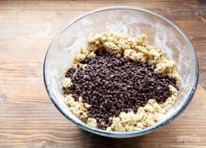 Печенье с шоколадной крошкой - фото шаг 3