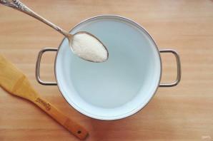 Маринованный арбуз быстрого приготовления