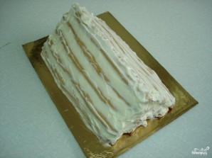 """Торт """"Монастырская изба"""" с вишней - фото шаг 11"""