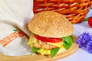 Бутерброды с базиликом - фото шаг 5