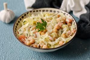 Салат с капустой и нутом - фото шаг 7