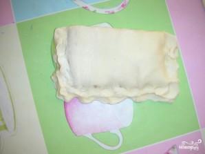 Слоеные пирожки с сыром - фото шаг 3