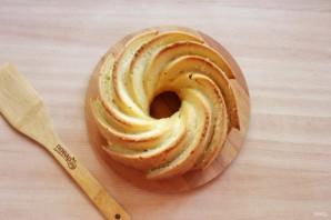 Лимонный кекс без яиц - фото шаг 12