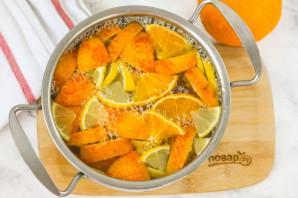 Компот из апельсина и лимона - фото шаг 5