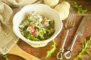 Салат из брокколи со сладкой заправкой - фото шаг 7