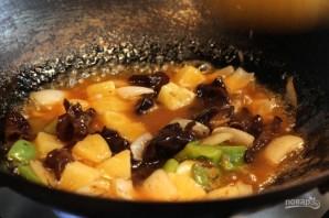 Свинина в кисло-сладком соусе по-китайски - фото шаг 5