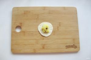 Вареники с солеными груздями и картошкой - фото шаг 11