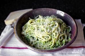 Спагетти с брокколи - фото шаг 7