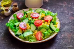 Испанский салат с тунцом - фото шаг 5