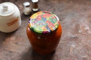 Салат из лука и моркови на зиму - фото шаг 8