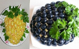 """Праздничный салат """"Гроздь винограда"""" - фото шаг 5"""