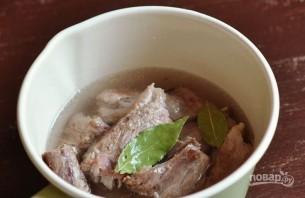 Тушеная свинина с картошкой - фото шаг 2