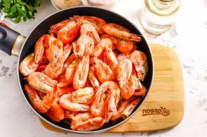 Креветки в сливочно-чесночном соусе - фото шаг 4