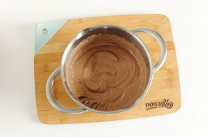 Кекс с шоколадной пастой - фото шаг 8