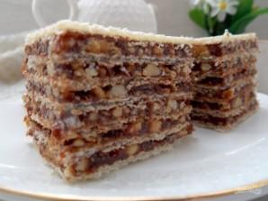 """Вафельный торт """"Грильяж"""" - фото шаг 8"""
