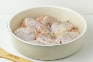Куриные окорочка с овощами - фото шаг 2