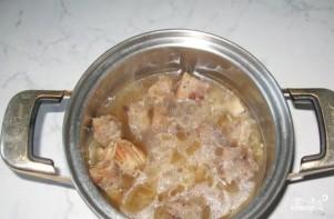 Свинина со сметаной и картофелем - фото шаг 1