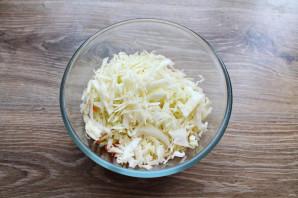 Салат с капустой и дайконом - фото шаг 4