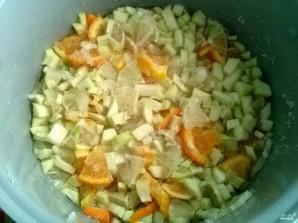 Варенье из кабачков с лимоном и апельсином - фото шаг 5