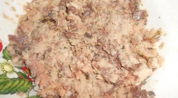 Пирог с рыбой и картошкой - фото шаг 3